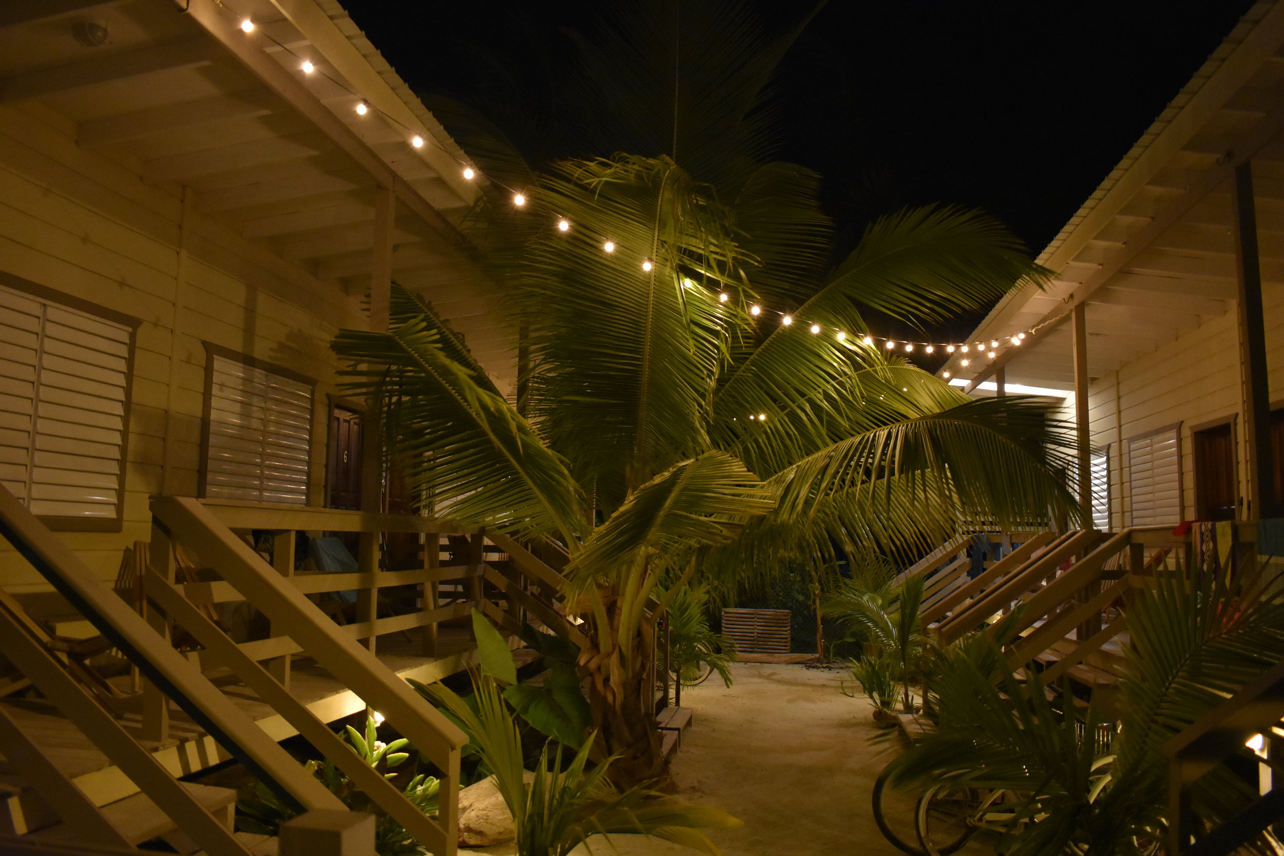 Na ilha de Caye Caulker ficamos hospedados no Airbnb Dream Cabanas