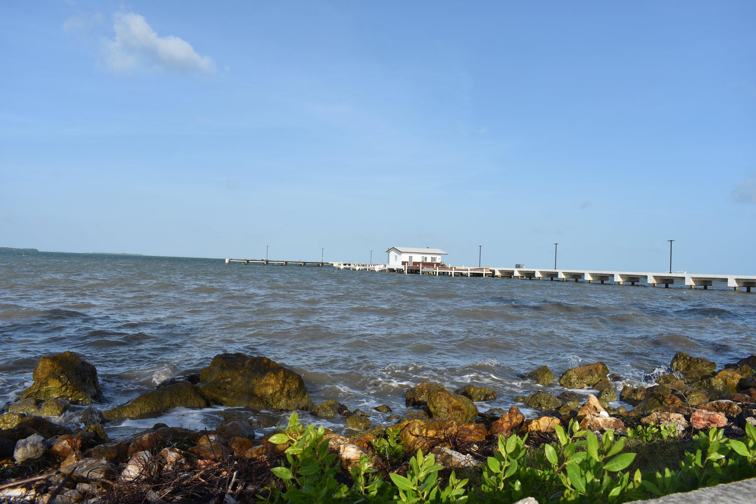 Belize City, a Cidade é simples mas tem uns cantinhos lindos, como esse.