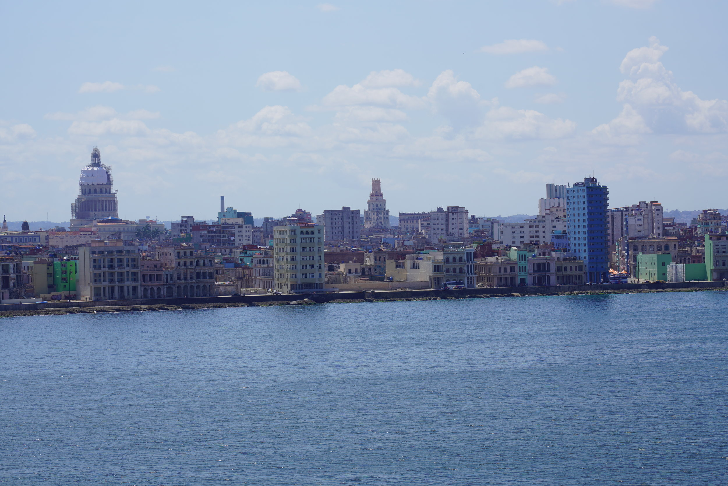 Chegada do cruzeiro MSC Armonia no porto de Havana, Cuba