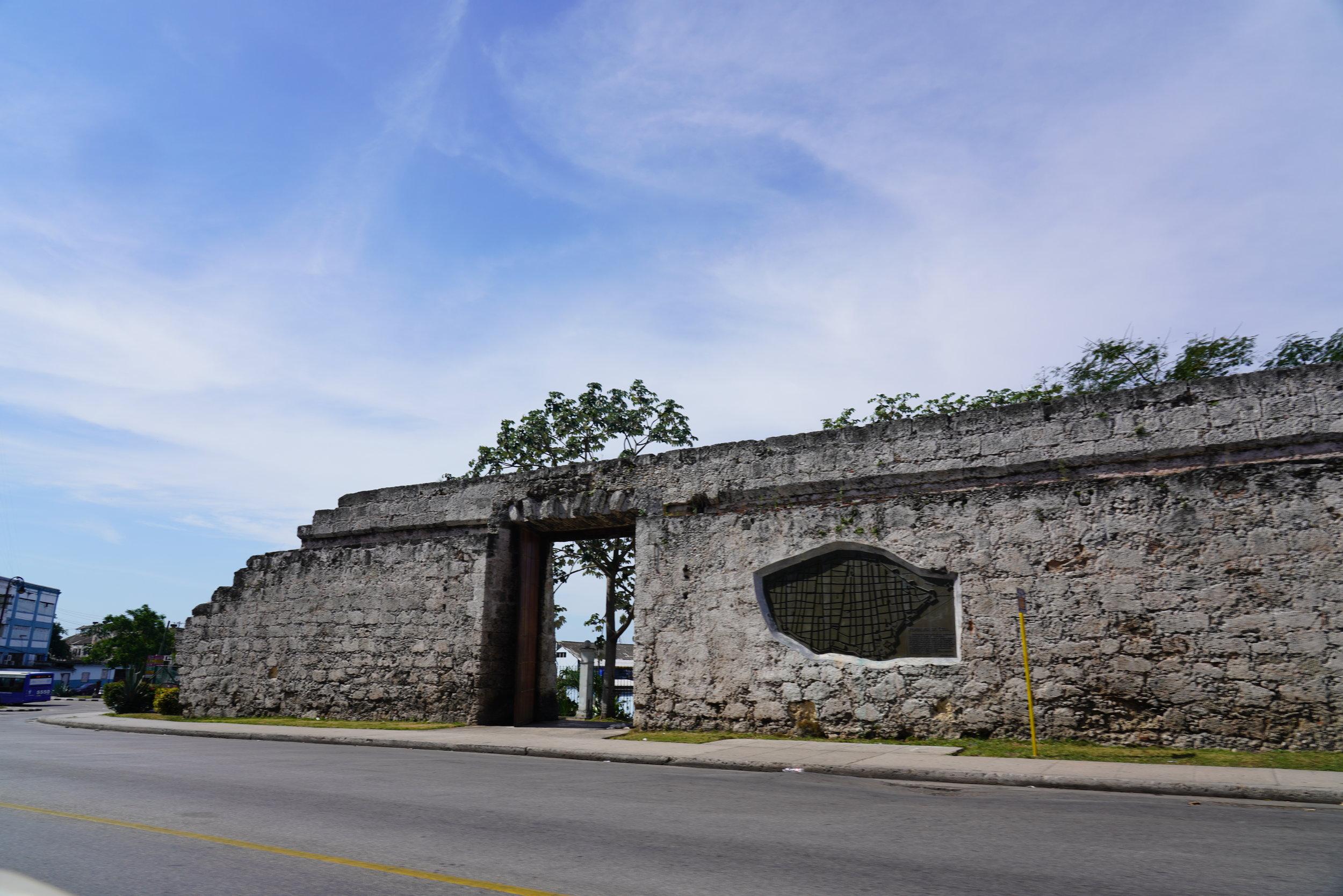Ruina do Muro em Havana, Cuba