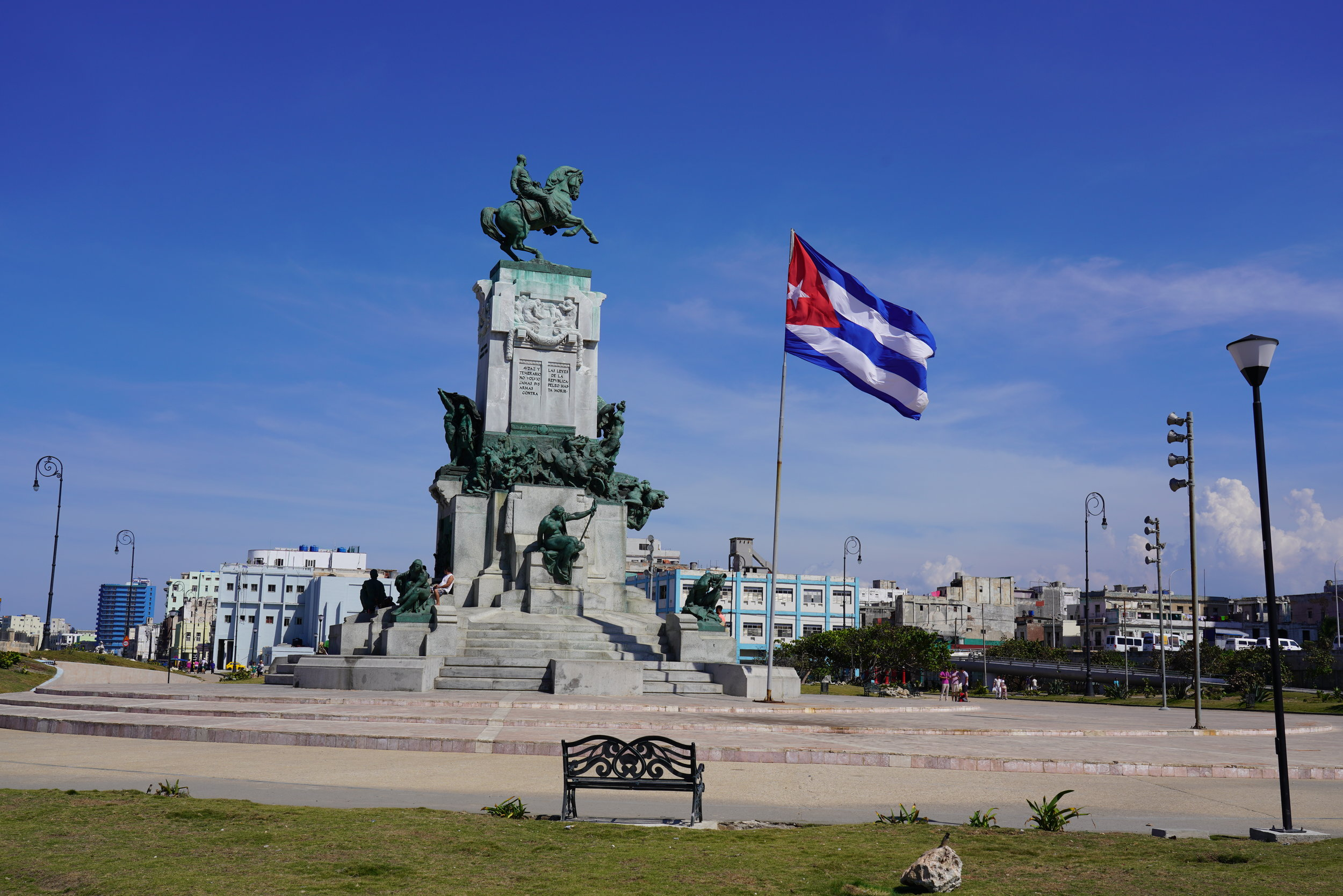 cuba praça baneira Havana