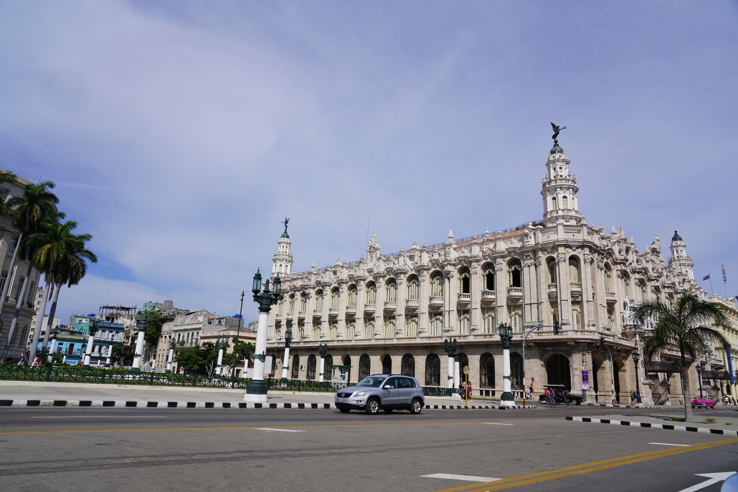 teatro municipal de havana cuba