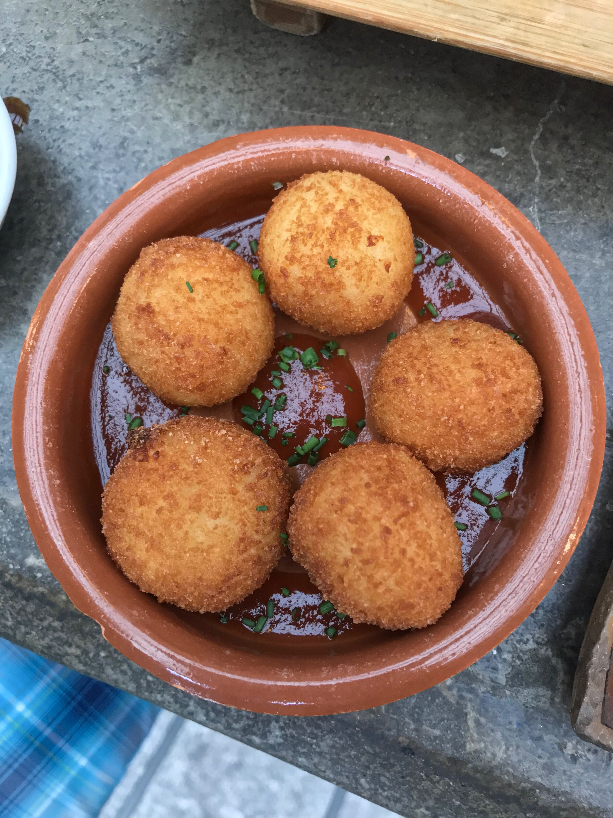Goat Cheese Croquete, SugarCane