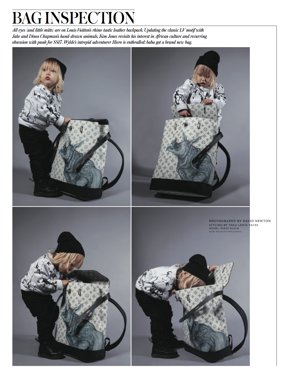 Hiero Black in Wylde Magazine