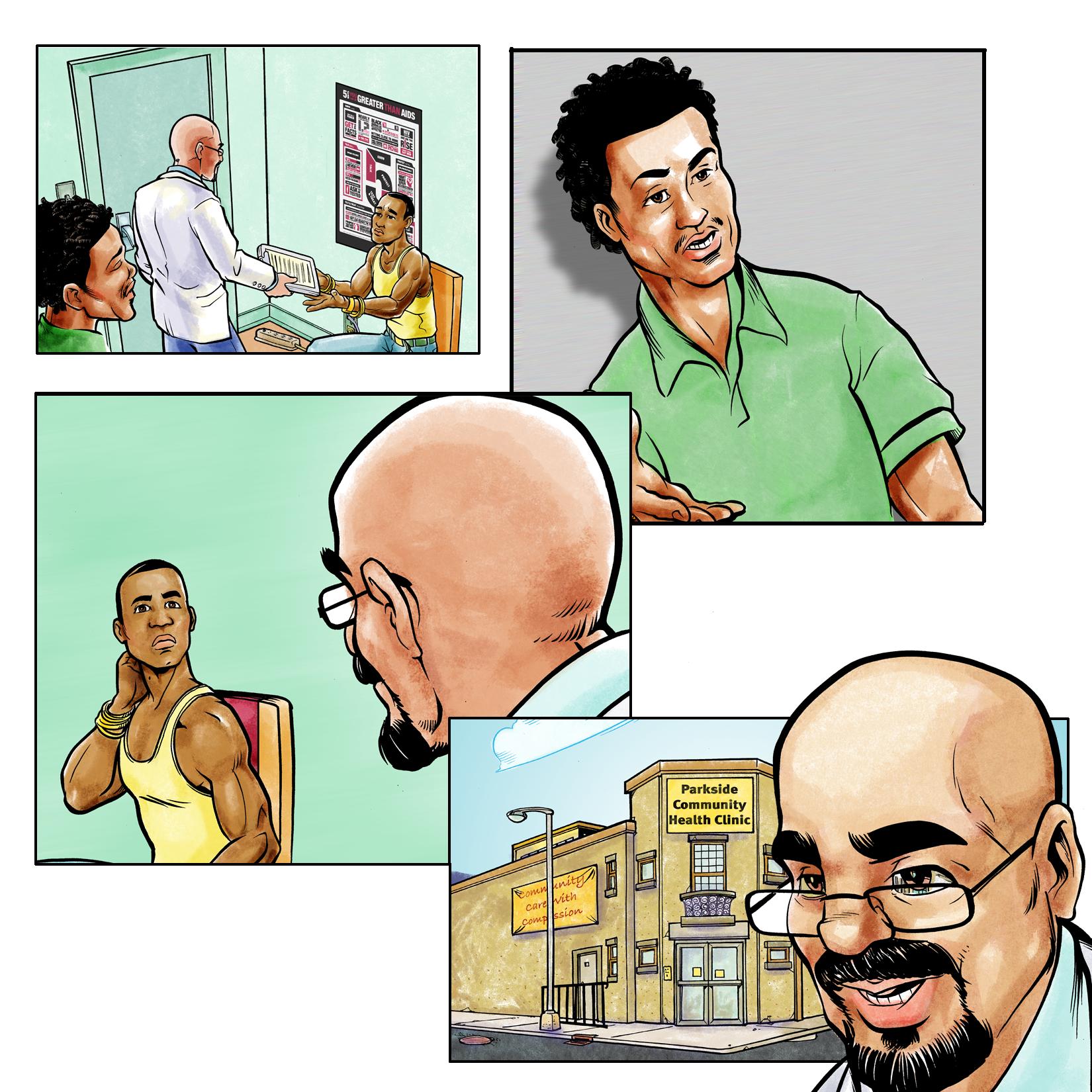 Online Educational Comic
