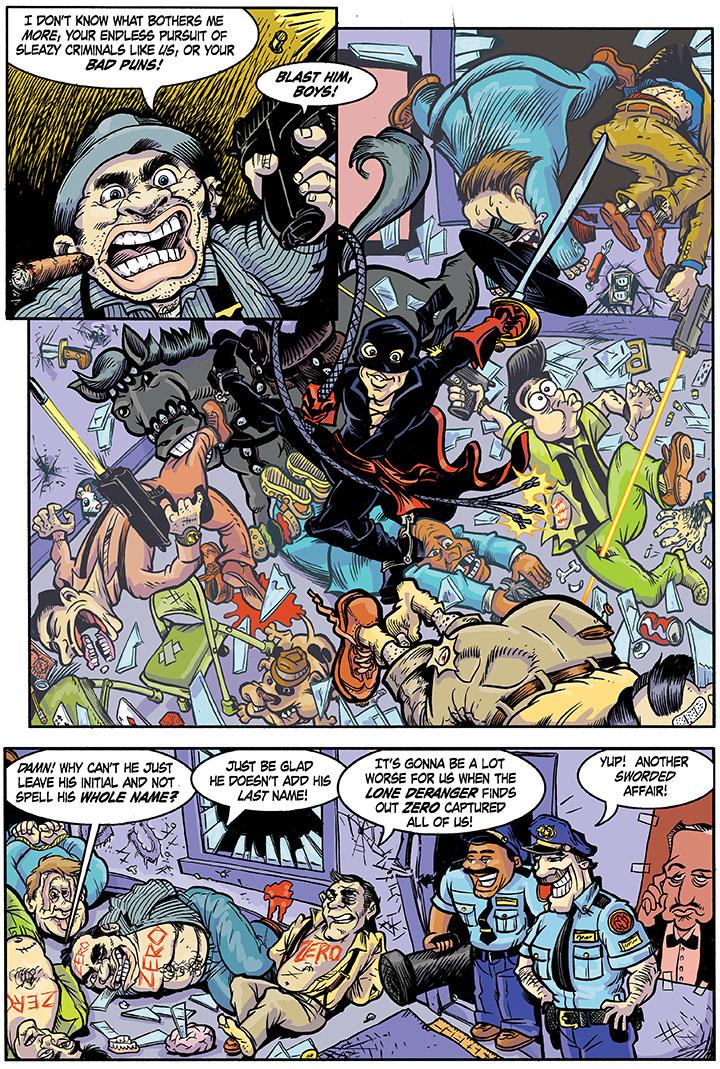 Humorous Comic Book