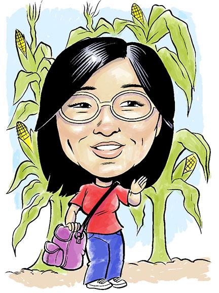 Convention Caricature