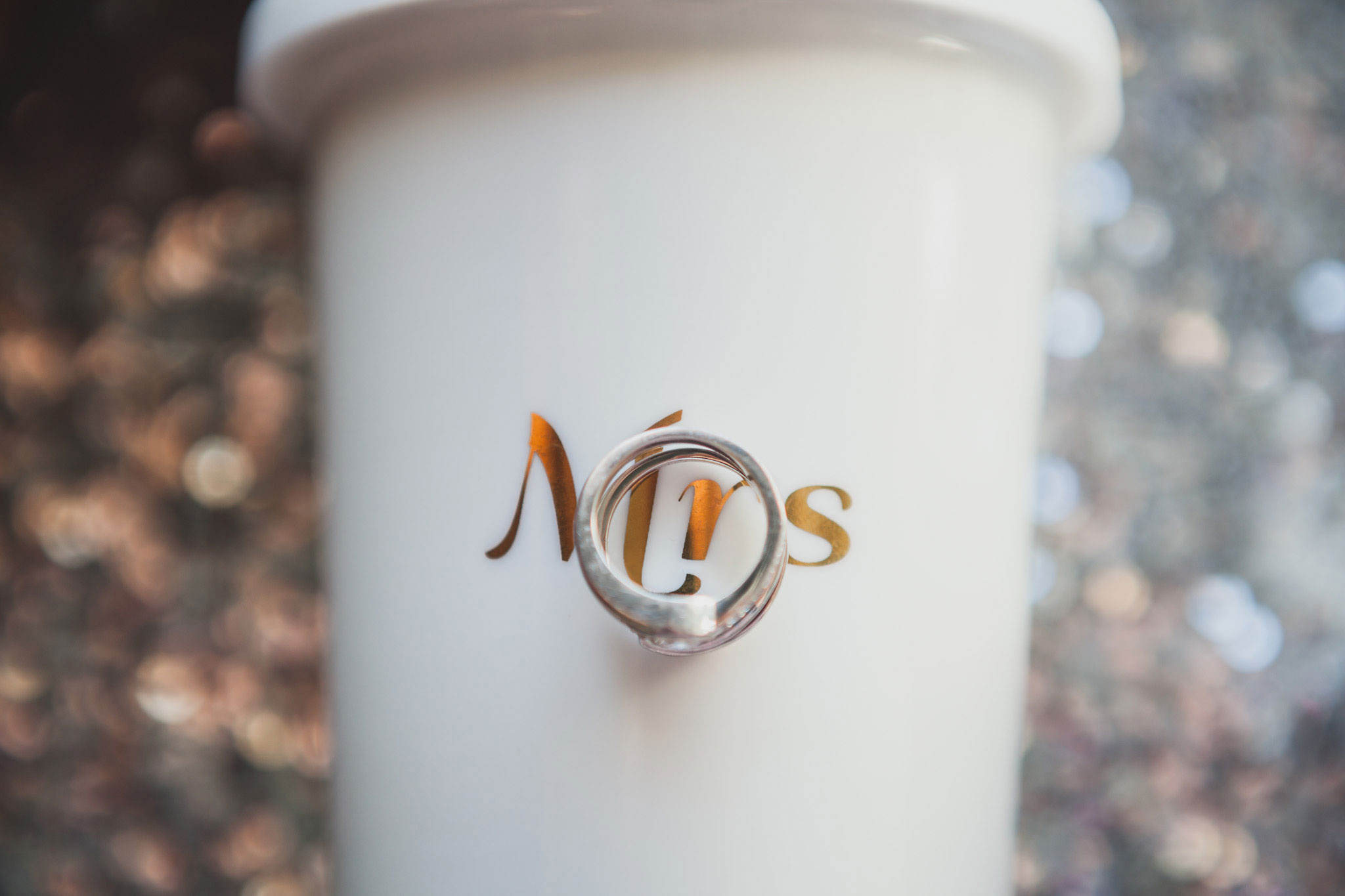 My Mrs Mug and my ring