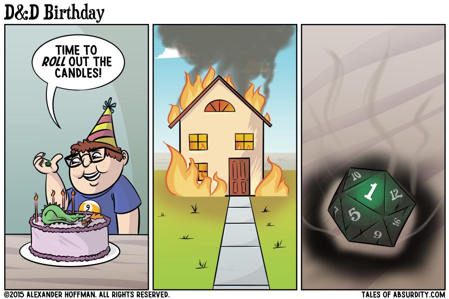 D&D funny birthday