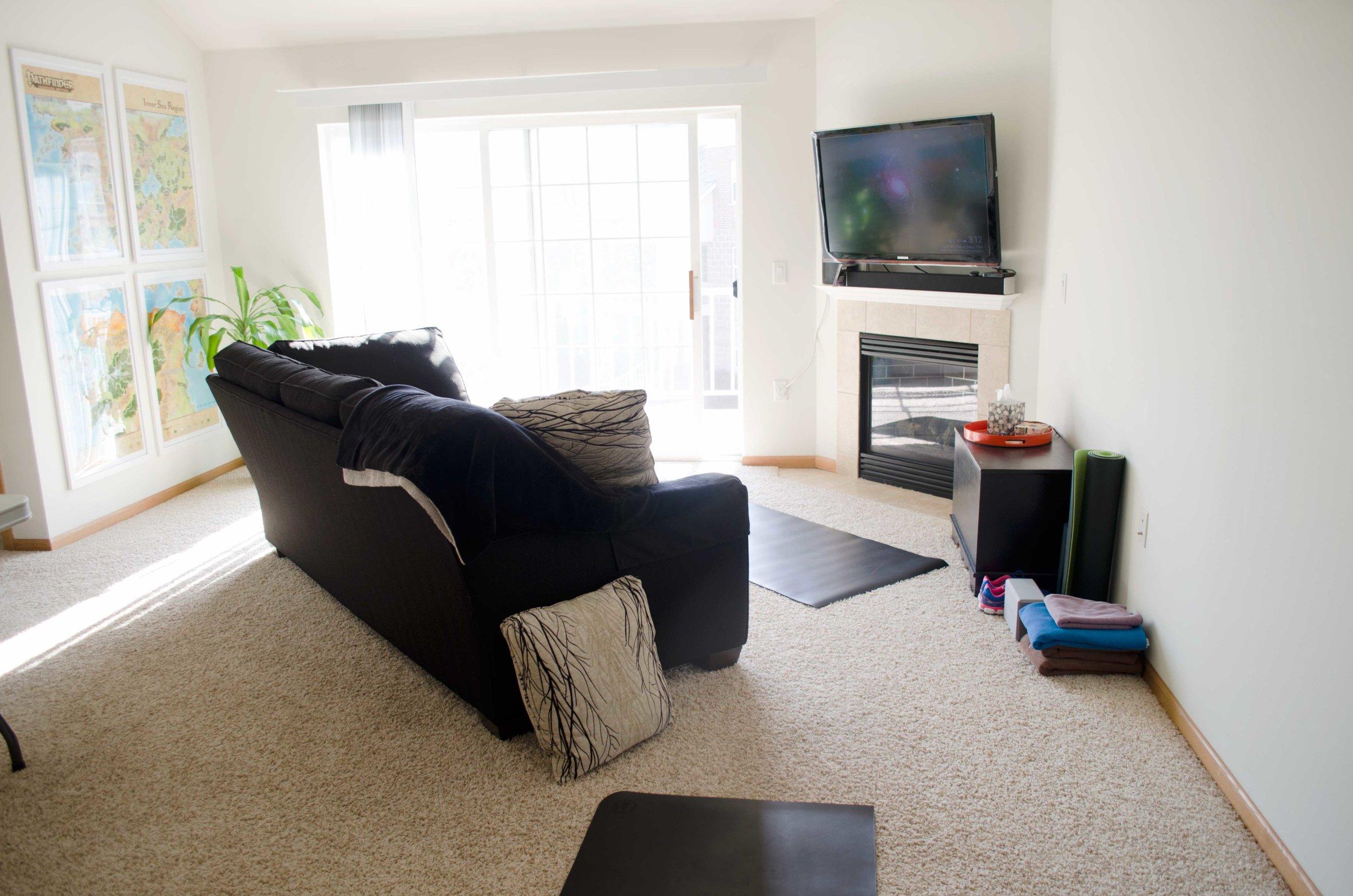 Hour Tour - Living Room