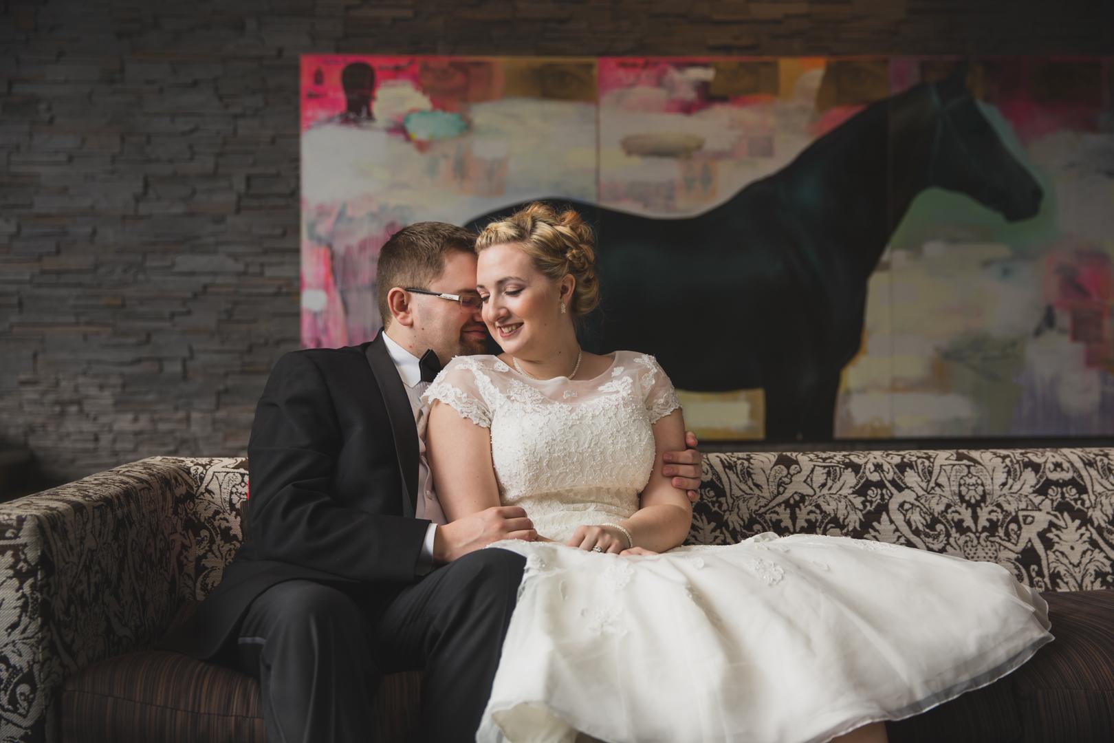 The Wedding - Date: February 3, 2015Where: Calgary, Alberta