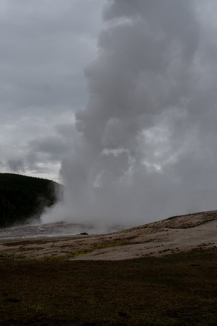 During Eruption