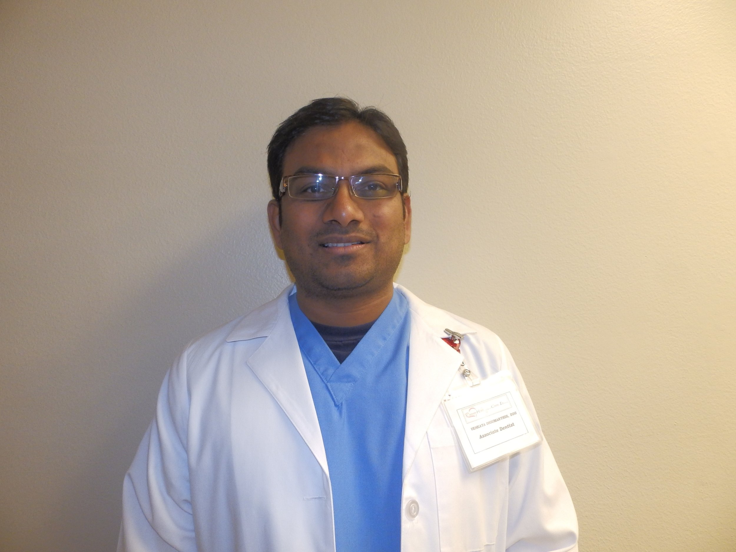 Dr. Venkata Digumarthi, Dentist at Langston