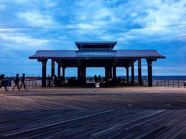 Coney Island   Brooklyn, NY  #lunapark #brooklyn #boardwalk #ocean #weekend