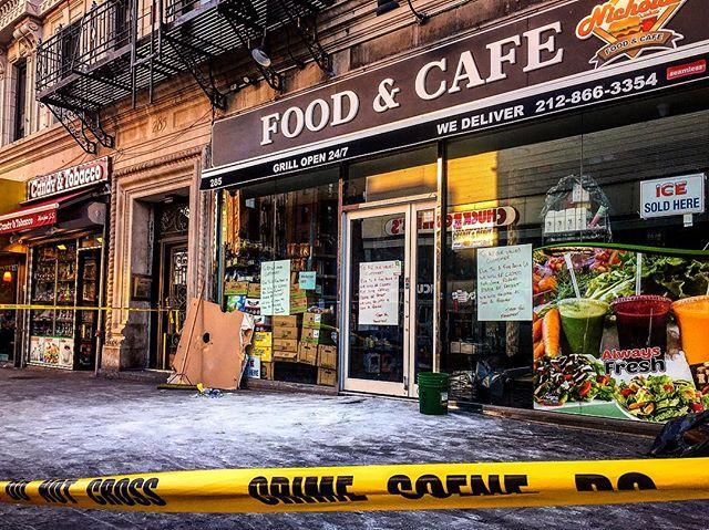 Crime Scene   Harlem, NY  #crimescene #nyc #harlem  Conveniently inconvenient.