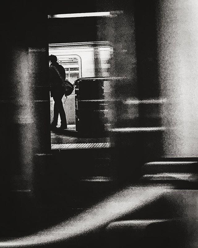 #blackandwhite #mta #nyc #subway