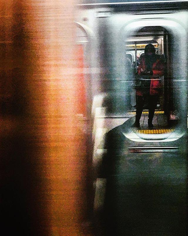 Train I ride, sixteen coaches long... #nyc #traintravels #mta #subway