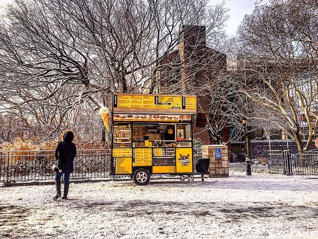 Winter Waffles... are the best waffles. #waffelsanddinges #nyc