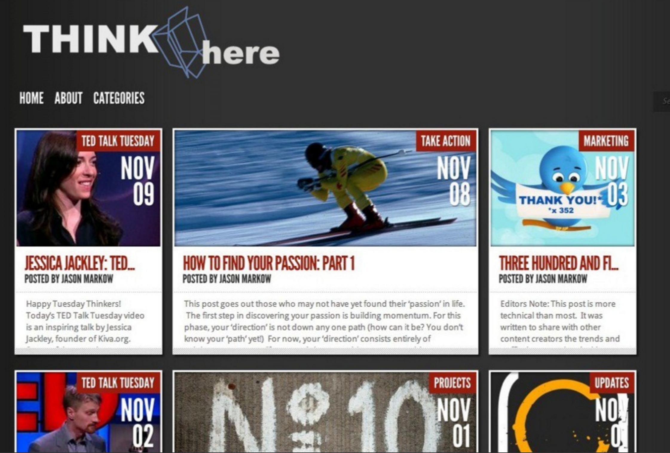 ThinkHere Blog