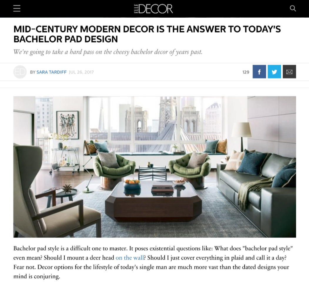 Elle Decor Interior Designers elle decor magazine feature: interior designers — thomas