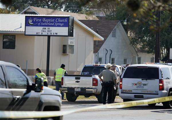 Despite scenes like this, now is not the time to talk about gun control. Thank you for your cooperation.