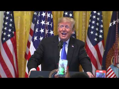 Donald Trump, who never laughs in public, found reason to smile wryly while speaking about pipe bounds sent to his political opponents.