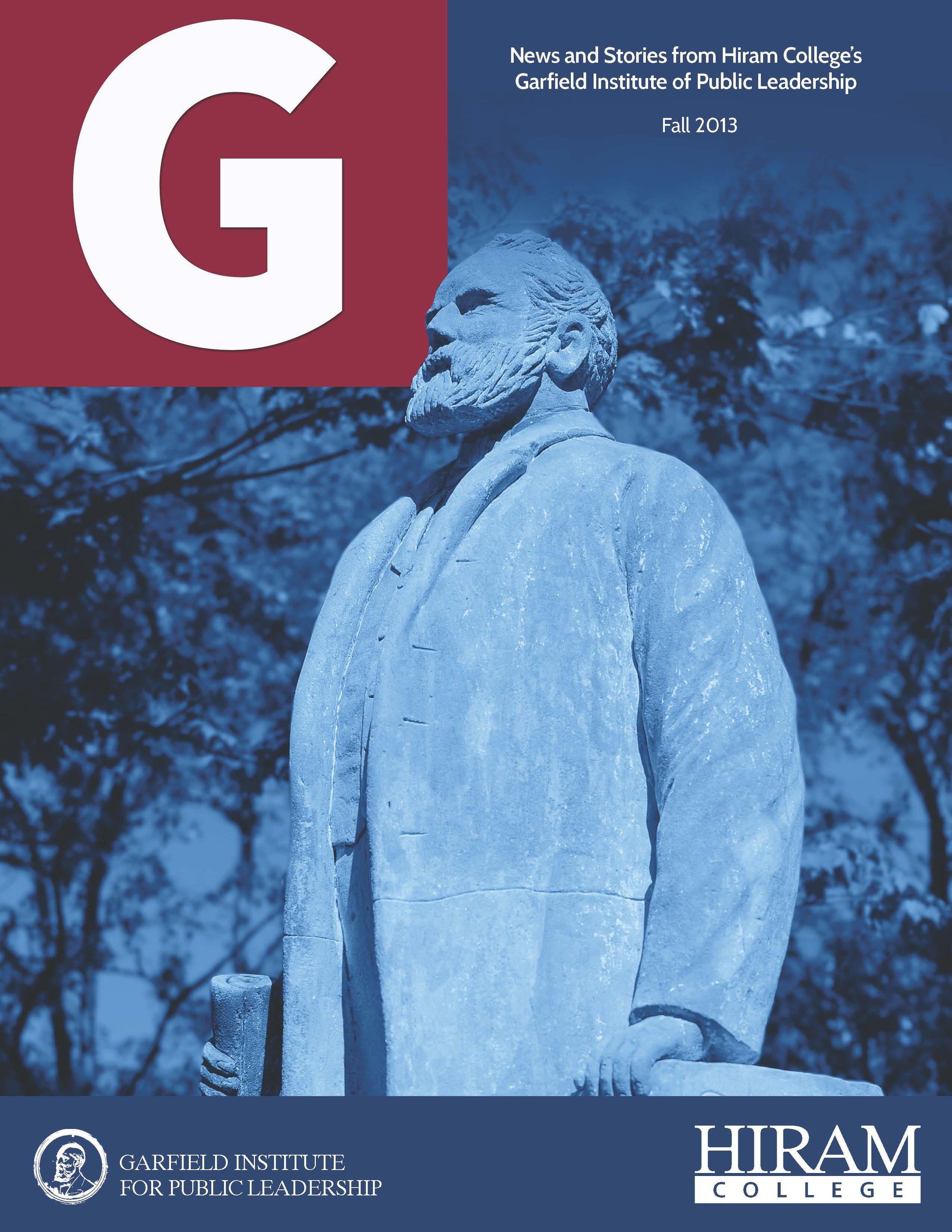 G_Institute_Newsletter_Fall 2013_Cover.jpg