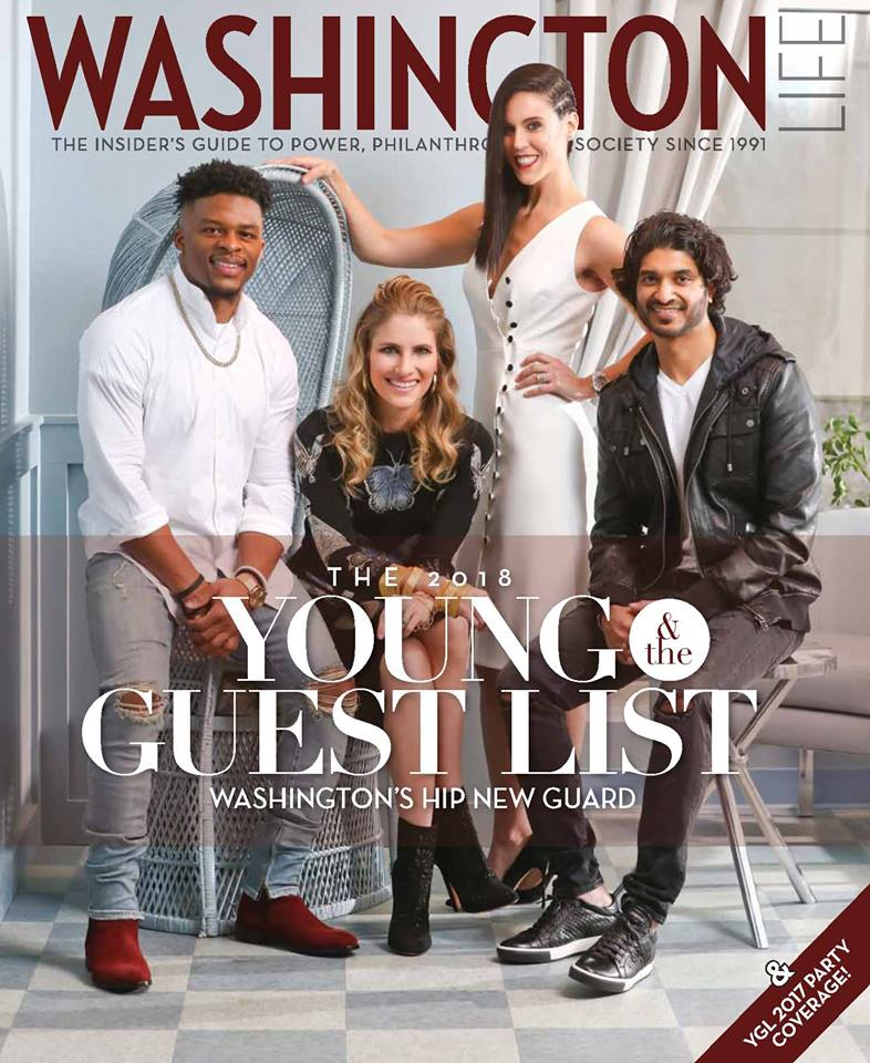 Washington Life Cover & Feature March 2018