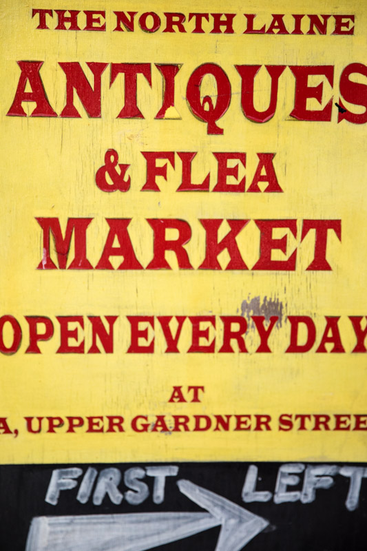 Brighton North Laine Antiques and Flea Market