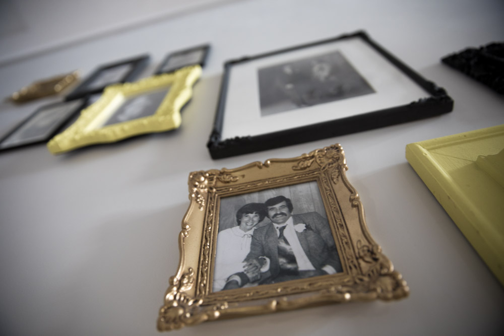 Gallery Wall Wedding Photos