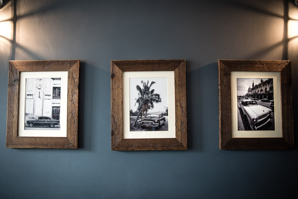 Cars of Cuba Distressed Frames Tempest Fired Earth