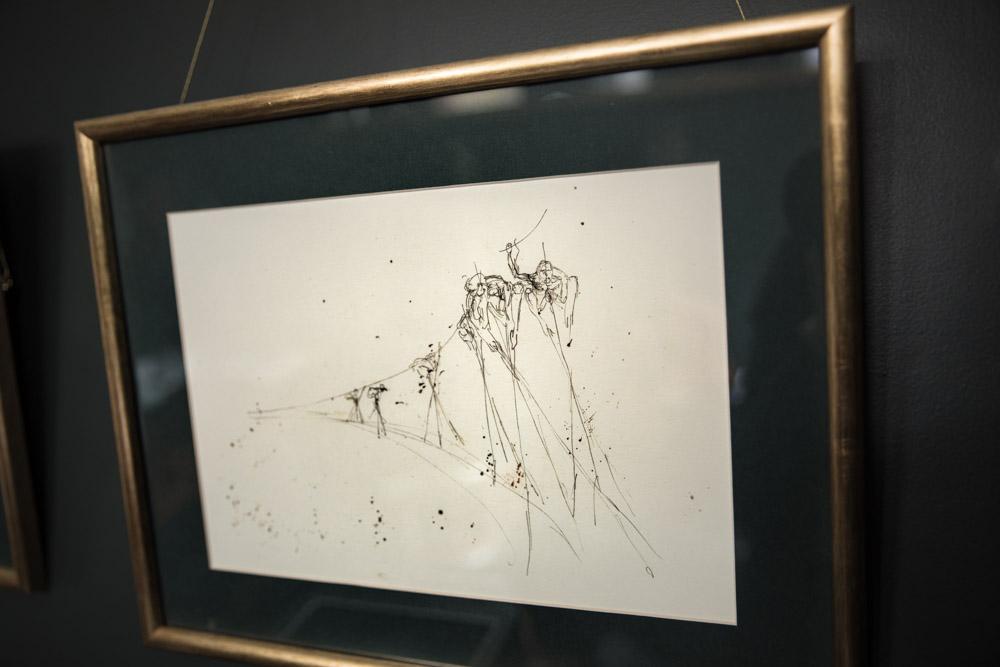 Croquis Nicolas Lavarenne Art Studio Green Farrow and Ball