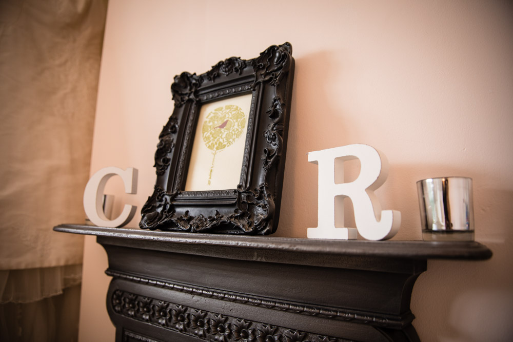 C and R Cast iron bedroom fireplace