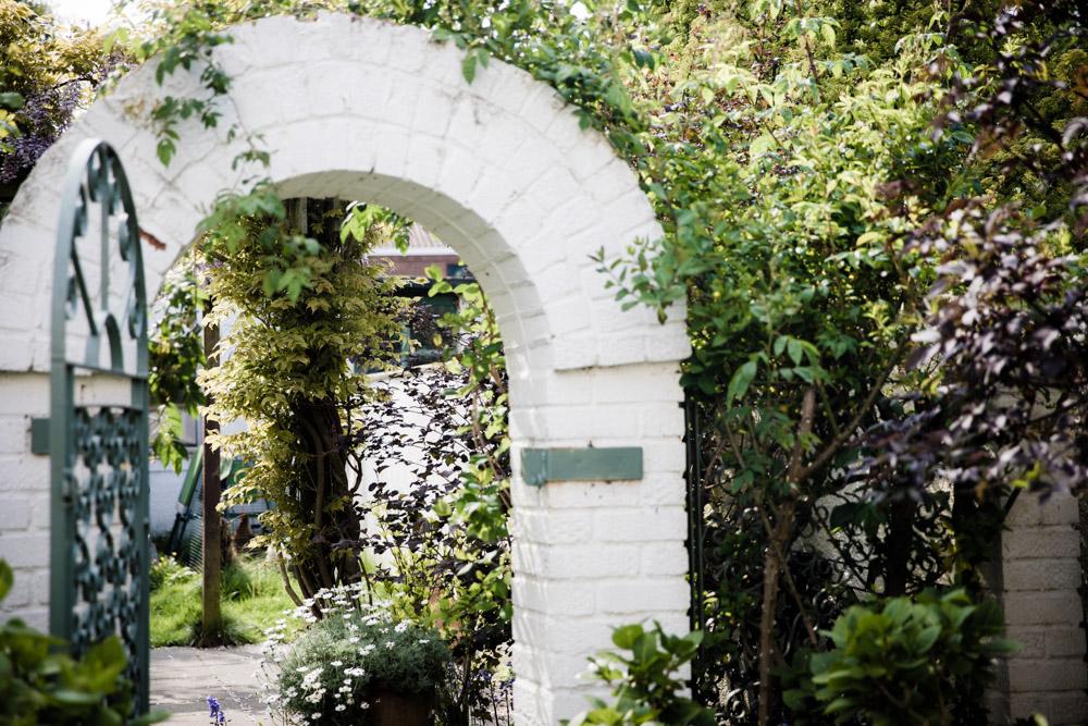 Inviting English Garden