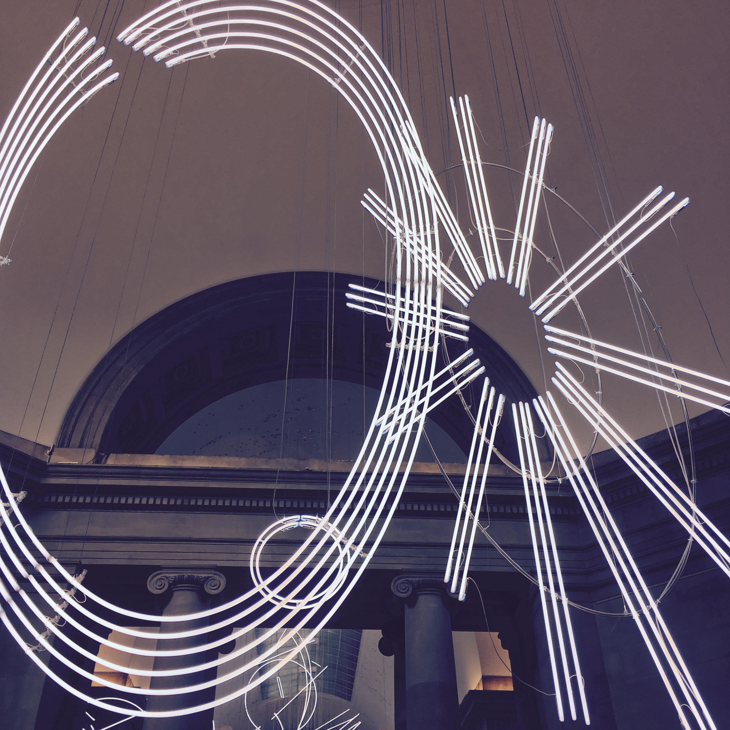 Forms in Space... by Light (in Time) by Cerith Wyn Evans