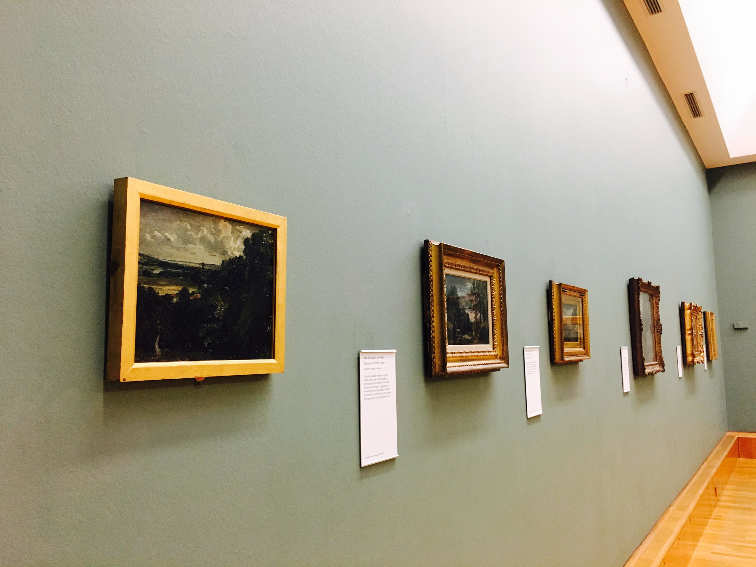 Turner gallery at the Tate Britain