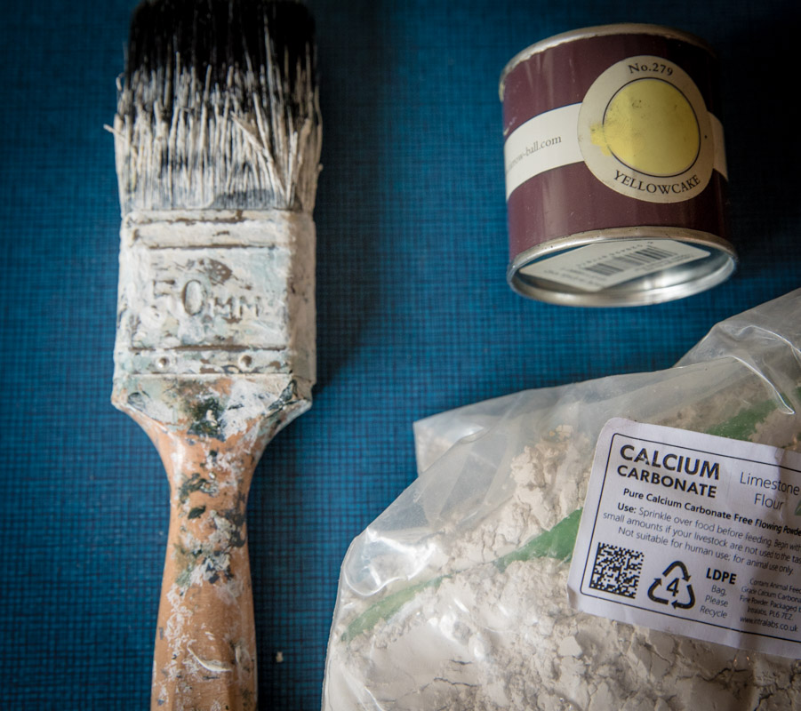 Make you own chalk paint materials