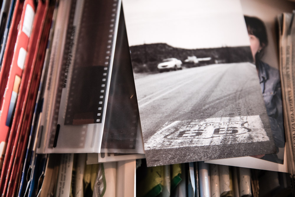 Box of photographs