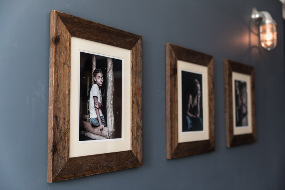Frame Trilogy Cuban Family in the Jungle