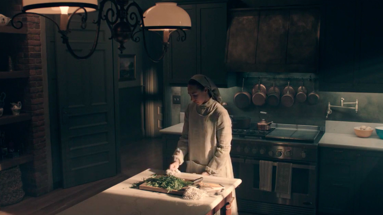 The Handmaid's Tale industrial shaker Kitchen