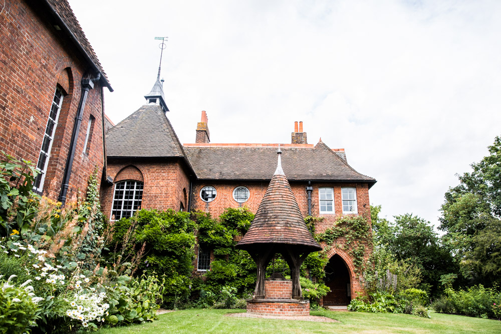 Exterior glory of the Red House