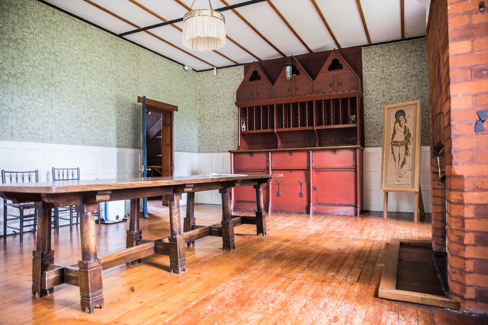 The Dining Room at The Red House