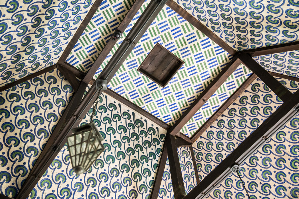 Repeating Pattern Main Ceiling