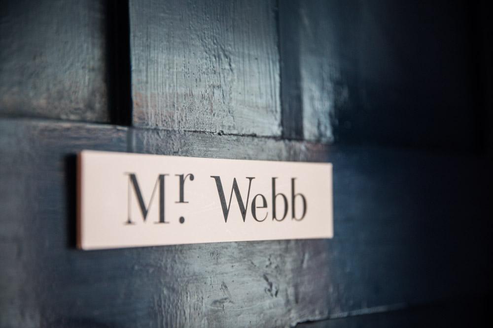 Mr Webb's Office