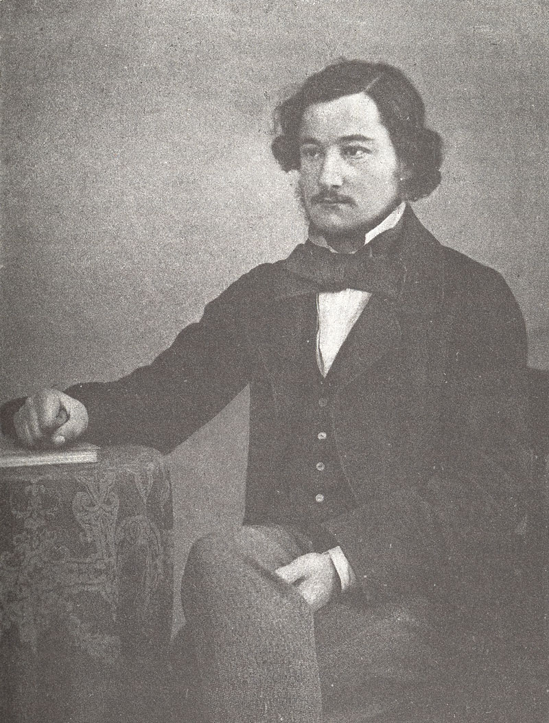 Young William Morris at age 23