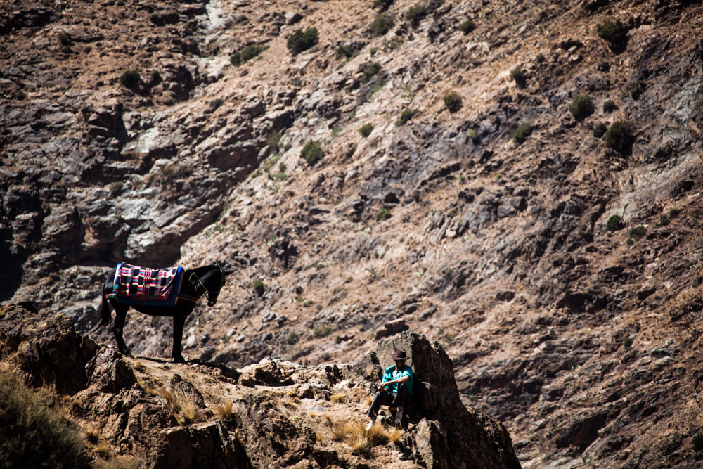 Some rural images of Morocco in Essouira and the Atlas Mountains