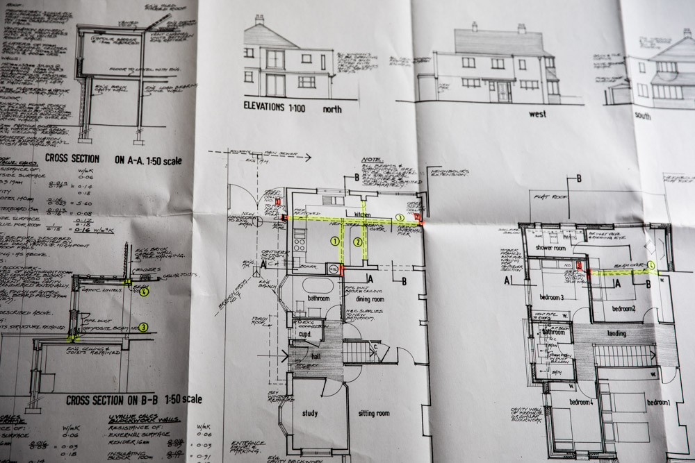 Donna Ford Renovation plans