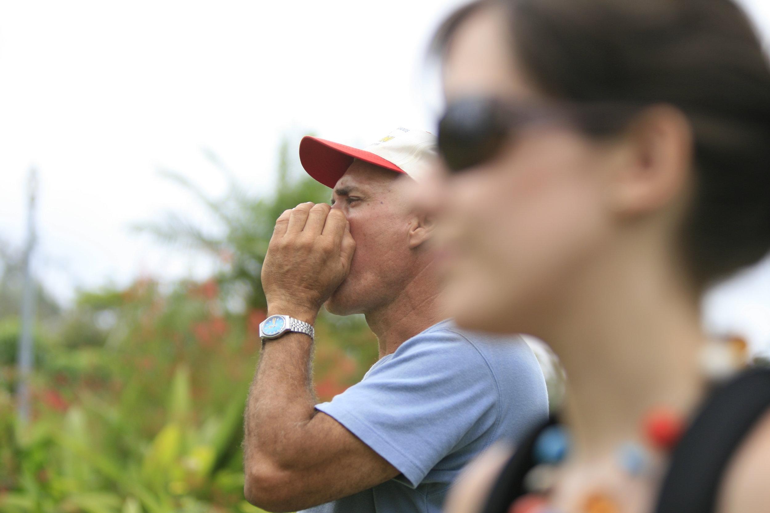 Our bird guide, La Terrazas, Cuba
