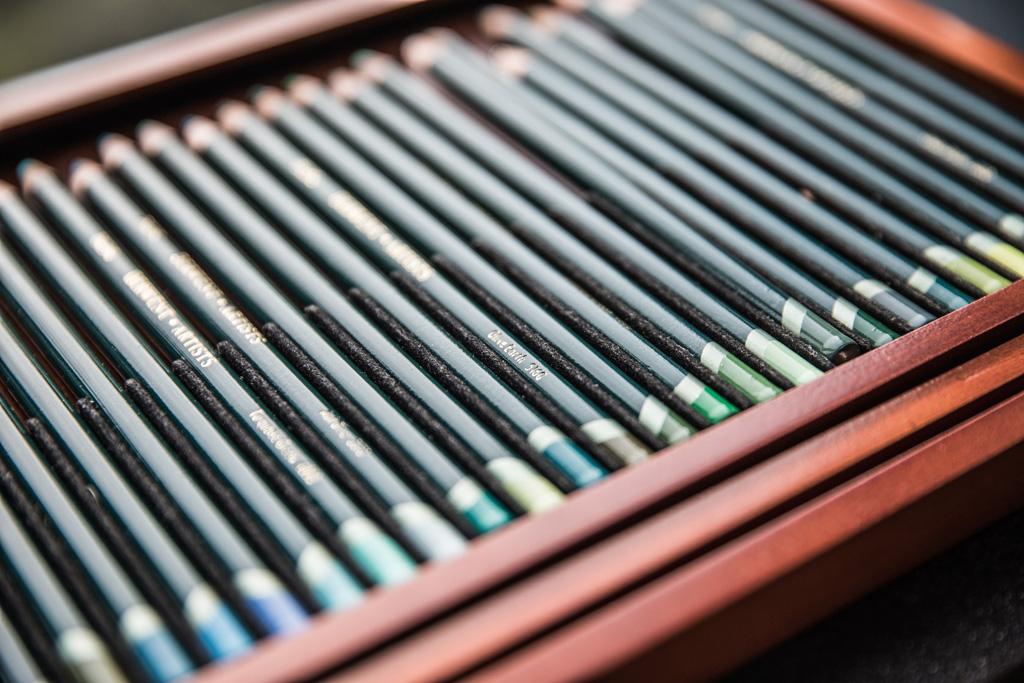 Charlotte Argyrou's green pencils