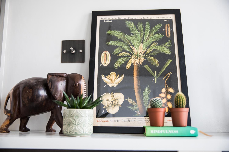 Cue mars Date Palm Print